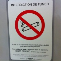 Interdiction de fumer  ©AtouSante