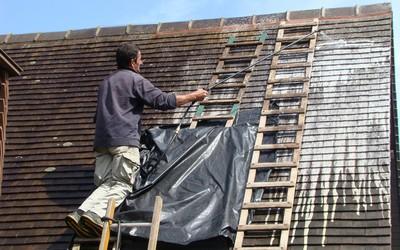 Travail sur un toit-Santé au travail
