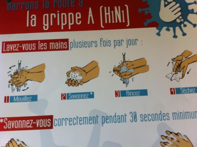 Grippe A H1N1 ©AtouSante