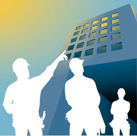 Chantier du bâtiment-Santé au travail