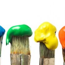 Pinceaux et peintures-Santé au travail