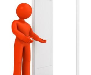 Porte ouverte. Santé au travail